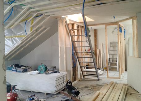 Renovationsarbeiten der Kuster Glas und Holz GmbH