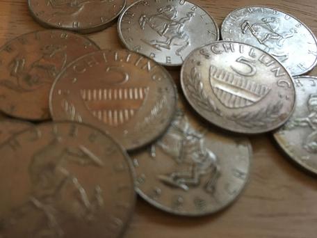 5 Schilling Silber, vekaufen, wert, Preis, Wo kann man Schillingmünzen vekaufen, umtauschen, Silbermünzen Preis, Münzhändler Mattersbug, Eisenstadt