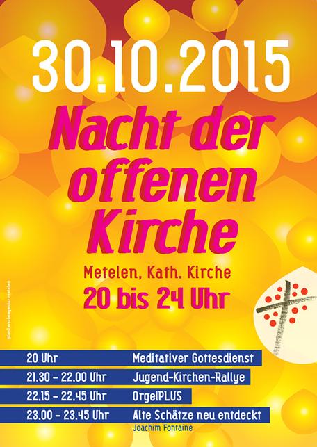 Plakatentwurf, plan2 werbeagentur metelen.de