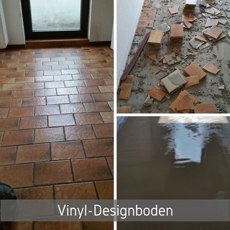 Vinyl-Designboden Projekt in Bremen Küche Fußboden Renovierung