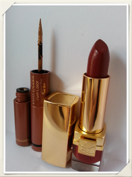 Eyeliner duo+Long Lasting Lipstick