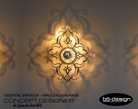 décoration arabesque orientale