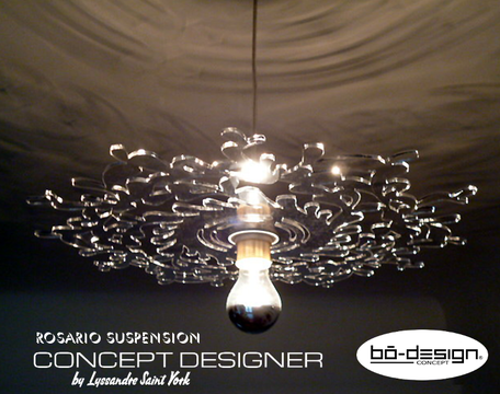 suspension luminaire baroque