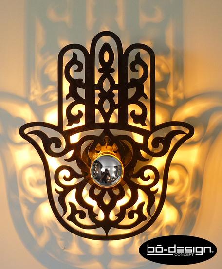 décoration murale main de fatima