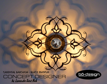 luminaire baroque