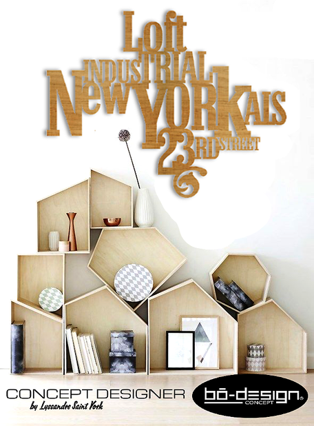 décoration nordic bois, déco scandinave bois,new york, loft new york, deco loft, deco bois,tableau typographie,deco industrielle,décoration loft, immobiler loft