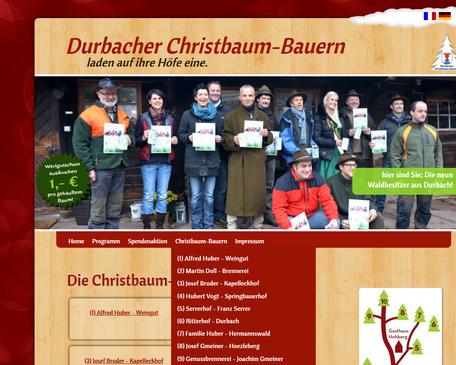 www.hoelzleberg.de Durbacher Christbaum Verkauf