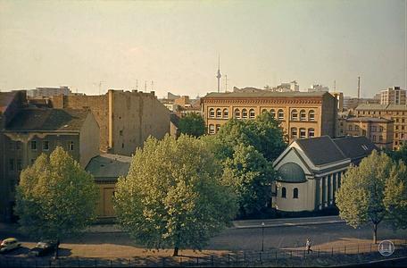 Berlin, Kreuzberg, Synagoge Fraenkelufer