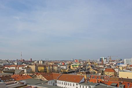 Dach der Lützowstraße. BFA - Gebäude Fernmeldeamt Winterfeldtstraße.