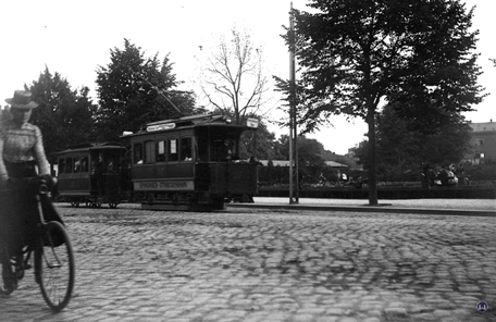 Berlin Spandauer Straßenbahn Fehrbelliner Tor Triebwagen