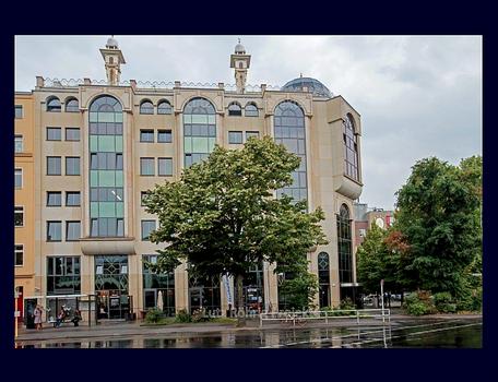 Kreuzberg Skalitzer Straße Bolle Moschee