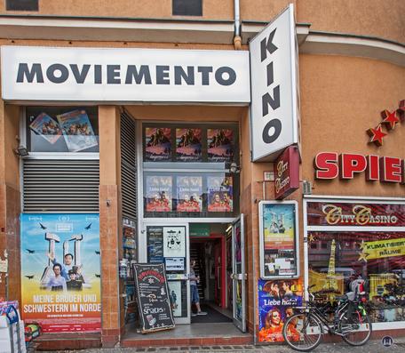 Kino Moviemento Berlin Kreuzberg Kottbusser Damm Eingangsbereich
