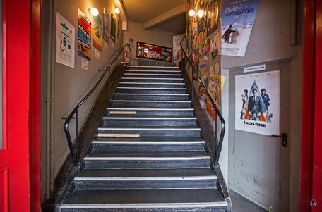 Kino Moviemento Berlin Kreuzberg Kottbusser Damm Treppenaufgang