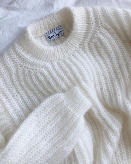Strickset September Sweater von PetiteKnit bei Wooltwist