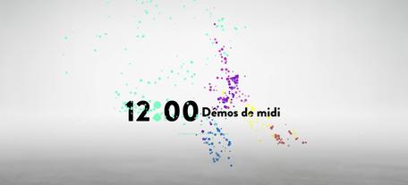Conception et animation des Démos de Midi, CNAV, 2020