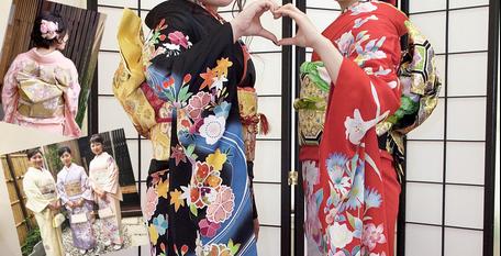 お宮参り、成人式は太宰府の着物レンタル花水木