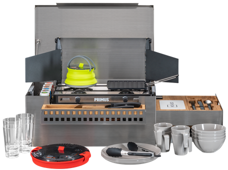 MOKUBO - Mobile Küchenbox mit komplettem Inhalt