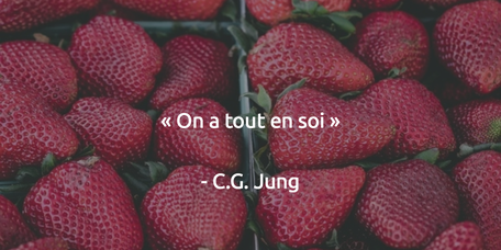 On a tout en soi. Carl Gustav Jung