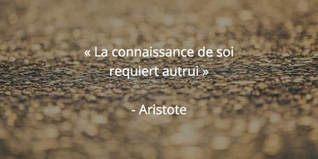 la connaissance de soi requiert autrui aristote