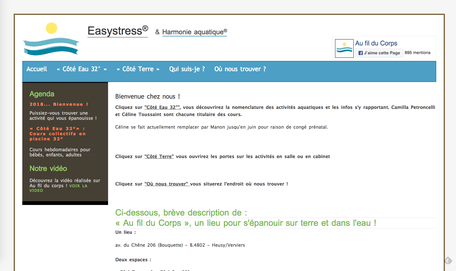 L'ancien site de Christianne (www.easystress.be)