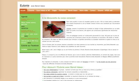 L'ancien site de Benoit (www.istace.com)