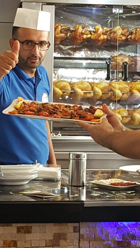 Derik Grill - Döner - Grill - Lamm - Salat - Ein Restaurant