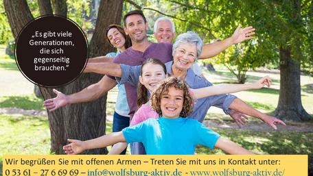 Wolfsburg; Alltagsbegleitung; Verein; Einkaufshilfe; Betreuung; Pflege; Altenhilfe
