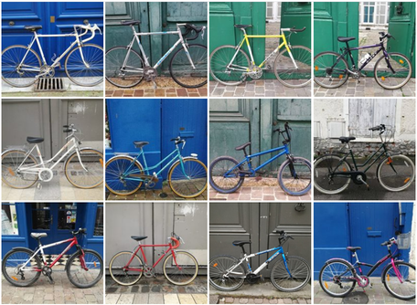 catalogue de vélos d'occasion