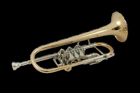 C Trompete Ricco Kühn Modell T 043 C