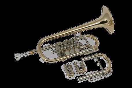 Es Trompete Ricco Kühn Modell T 053 EsX