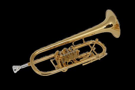 C Trompete Ricco Kühn Modell T 053 C