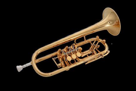 C-Trompete Ricco Kühn Modell T 053 CX