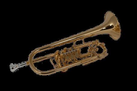 C Trompete Ricco Kühn Modell T 063 C