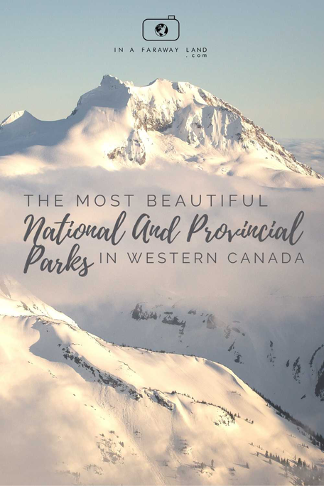 Although certainly most famous, Banff National Park is just one of many beautiful National and Provincial Parks in Canada. Find out other amazing places to visit in Alberta and British Columbia - Canada's Most beautiful provinces. #Canada #Travel #Tips