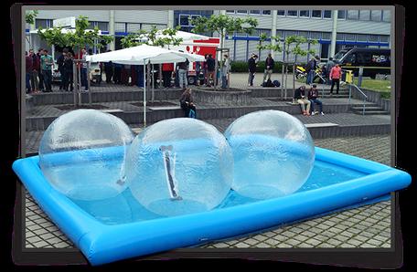 Aqua Bälle günstig mieten in Bonn/Köln/Bornheim