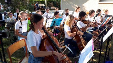 Ecole de musique EMC à Crolles - Grésivaudan : activités durant la colo EMC