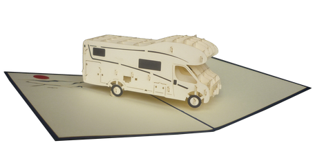 Carte Pop-Up Camping car