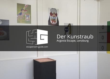 Der Kunstraub, Argovia Escape, Lenzburg on Escape Room Guide