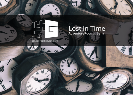 Lost in Time, AdventureRooms, Bern on Escape Room Guide