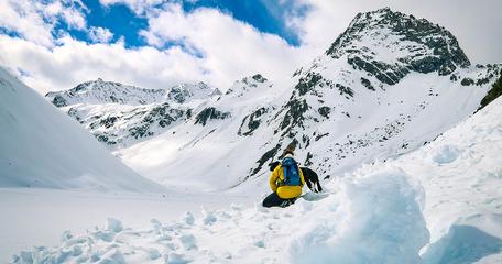 Pitztal Gletscher Tirol Wandern mit Hund Bergurlaub mit Hund Urlaub mit Hund im Pitztal Tirol Riffelsee