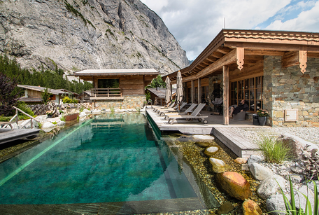 Gramai Alm Wellness day spa Tirol Hotel