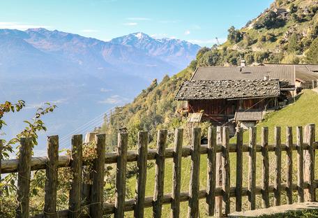 Meraner Höhenweg 1.000 Stufen Schlucht