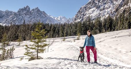 Wimmbachgries Ramsau Wandern in Bayern mit Hund Watzmann Bergurlaub mit Hund