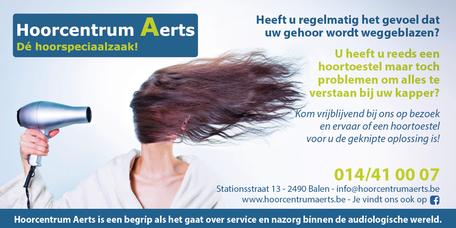 Dirk Van Bun Communicatie & Vormgeving - Grafische vormgeving - Grafisch ontwerp - reclame - publiciteit - Grafisch ontwerp - Lommel - Hoorcentrum Aerts