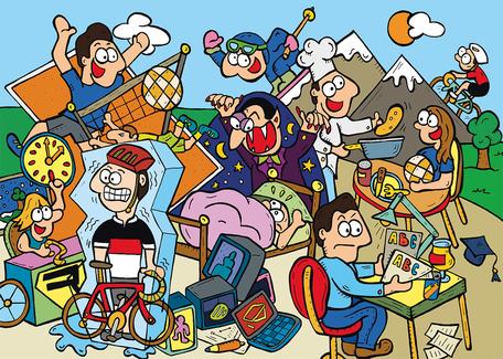 Van Bun Communicatie & Vormgeving - Gepersonaliseerde illustraties als geschenk - Lommel