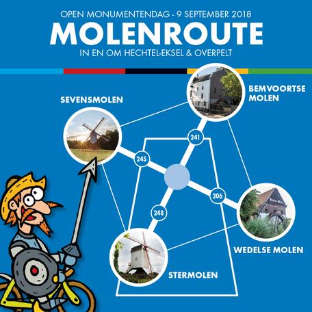 Dirk Van Bun Communicatie & Vormgeving - Lommel - Grafisch ontwerp - Opmaak - reclame - publiciteit - Folder Open Monumentendag