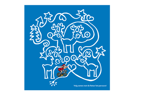 Dirk Van Bun Communicatie & Vormgeving - Illustraties - originele tekening - Bedrijven - ondernemingen - particulieren - op maat van uw activiteiten en wensen - Lommel - wenskaarten - Tips voor Fietsers
