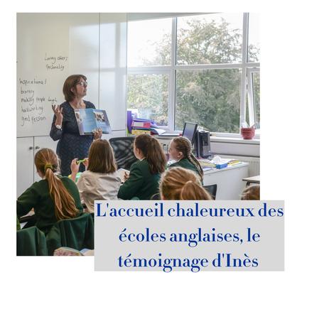 article de blog : l'accueil des écoles anglaises