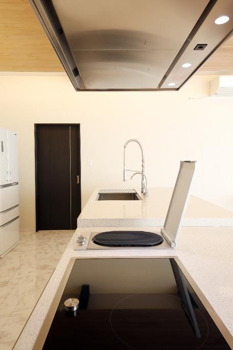 使う場所でキッチン高さを変更