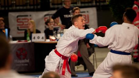 Karate Wettkampf Training Freiburg